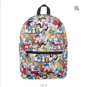 NWT Bioworld Peanuts Backpack 💛🖤